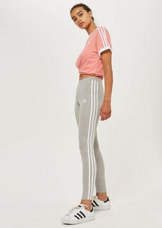 Three Striped Leggings By Adidas Originals