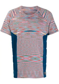 Adidas tie-dye panelled T-shirt