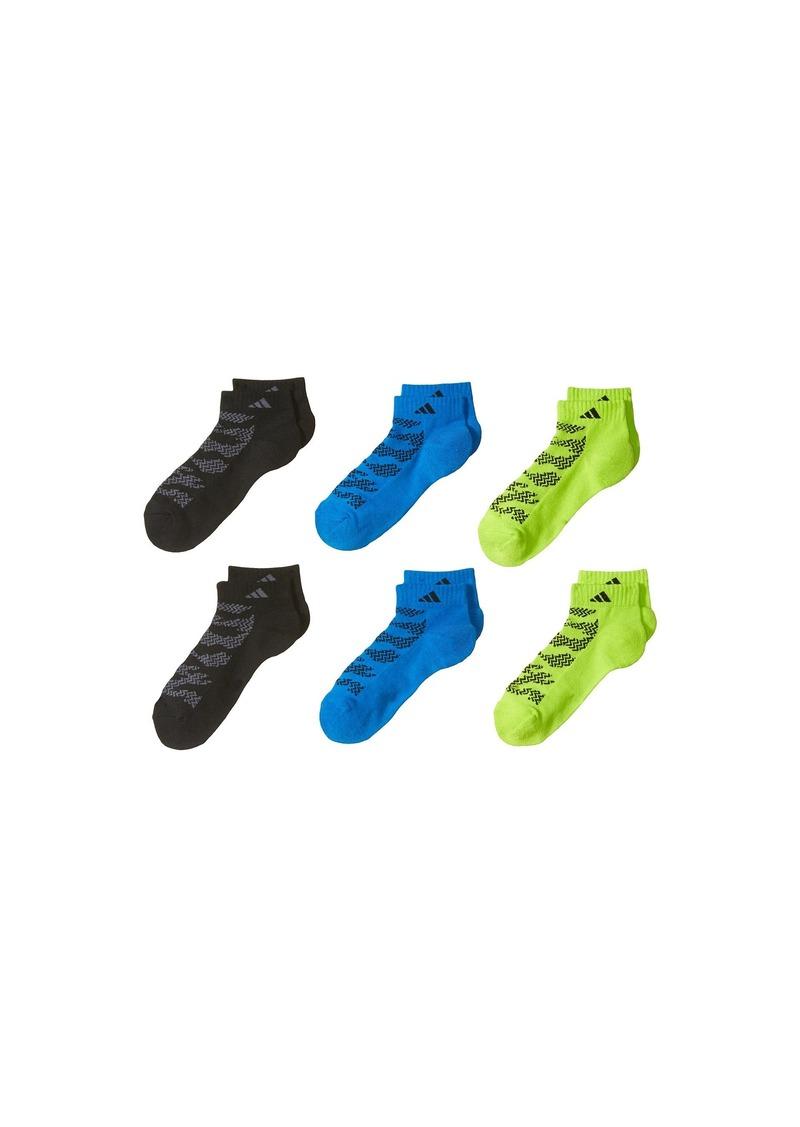 Adidas Tiger Style Low Cut Socks 6-Pack (Little Kid/Big Kid/Adult)