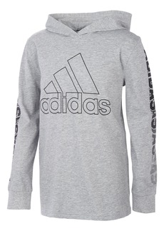 Toddler Boy's Adidas Kids' Chop Fade Hooded Graphic Tee