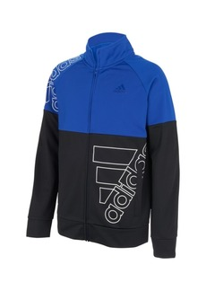 Adidas Toddler Boys Zip Front Badge of Sport Tricot Jacket