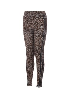 Adidas Toddler Girls All Over Print 3 Stripe Tight