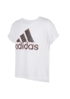 Adidas Toddler Girls Short Sleeves Waist Dolman T-shirt
