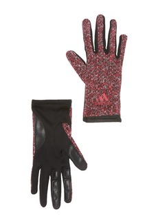 Adidas Tone Knit Contrast Gloves