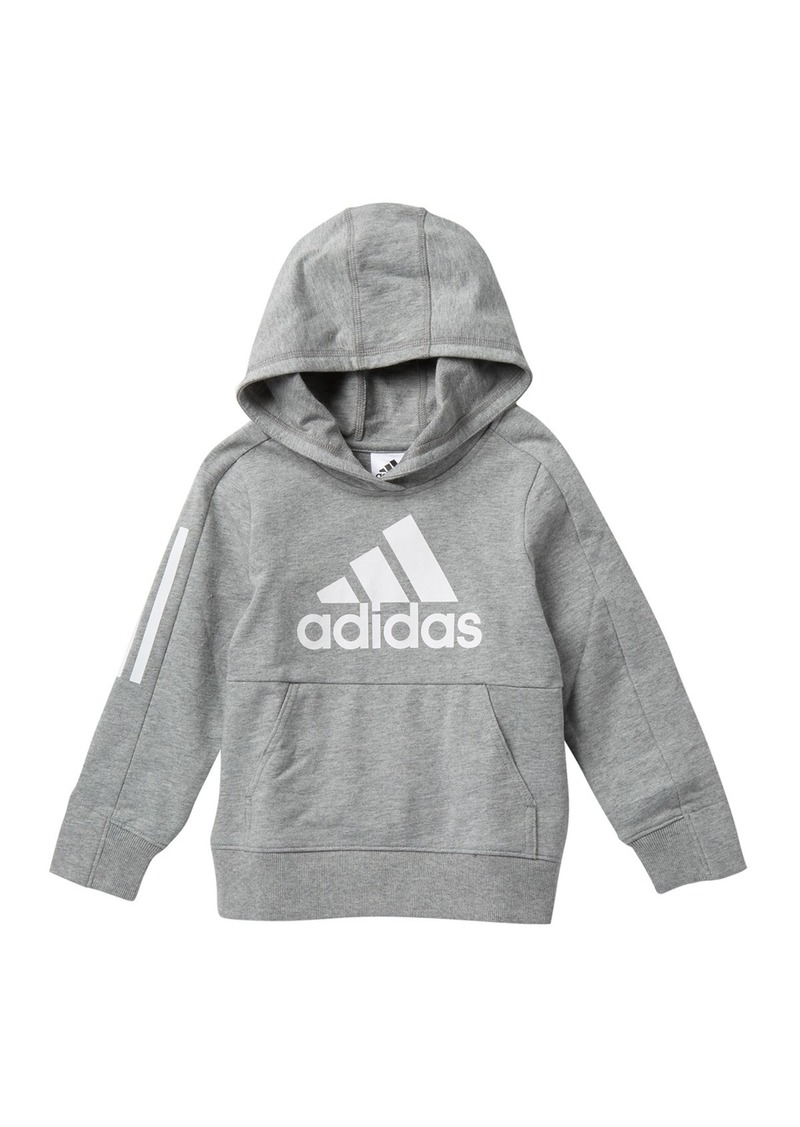 Adidas Transitional Pullover Hoodie (Toddler, Little Boys, & Big Boys)