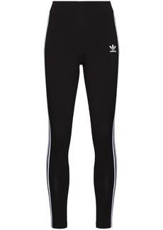 Adidas three-stripe detail leggings