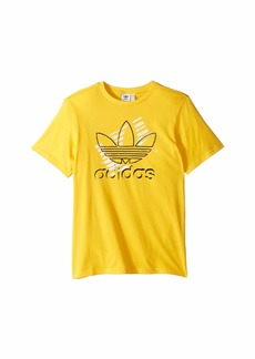 Adidas Trefoil Art Tee (Little Kids/Big Kids)