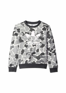 Adidas Trefoil Camo Crew (Little Kids/Big Kids)