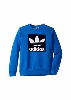 Adidas Trefoil Crew Sweater (Little Kids/Big Kids)