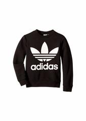Adidas Trefoil Crew Sweatshirt (Little Kids/Big Kids)