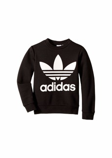 Adidas Trefoil Crew Sweatshirt (Little Kids/Big Kids)
