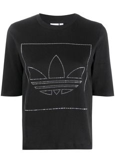 Adidas Trefoil embellished T-Shirt