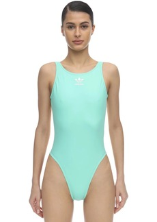 Adidas Trefoil Logo One Piece Swimsuit