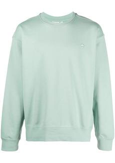 Adidas Trefoil-logo organic cotton sweater