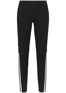 Adidas trefoil logo performance leggings