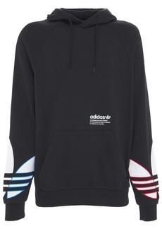 Adidas Tricolor Trefoil Cotton Hoodie