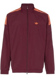 Adidas triple stripe bomber jacket