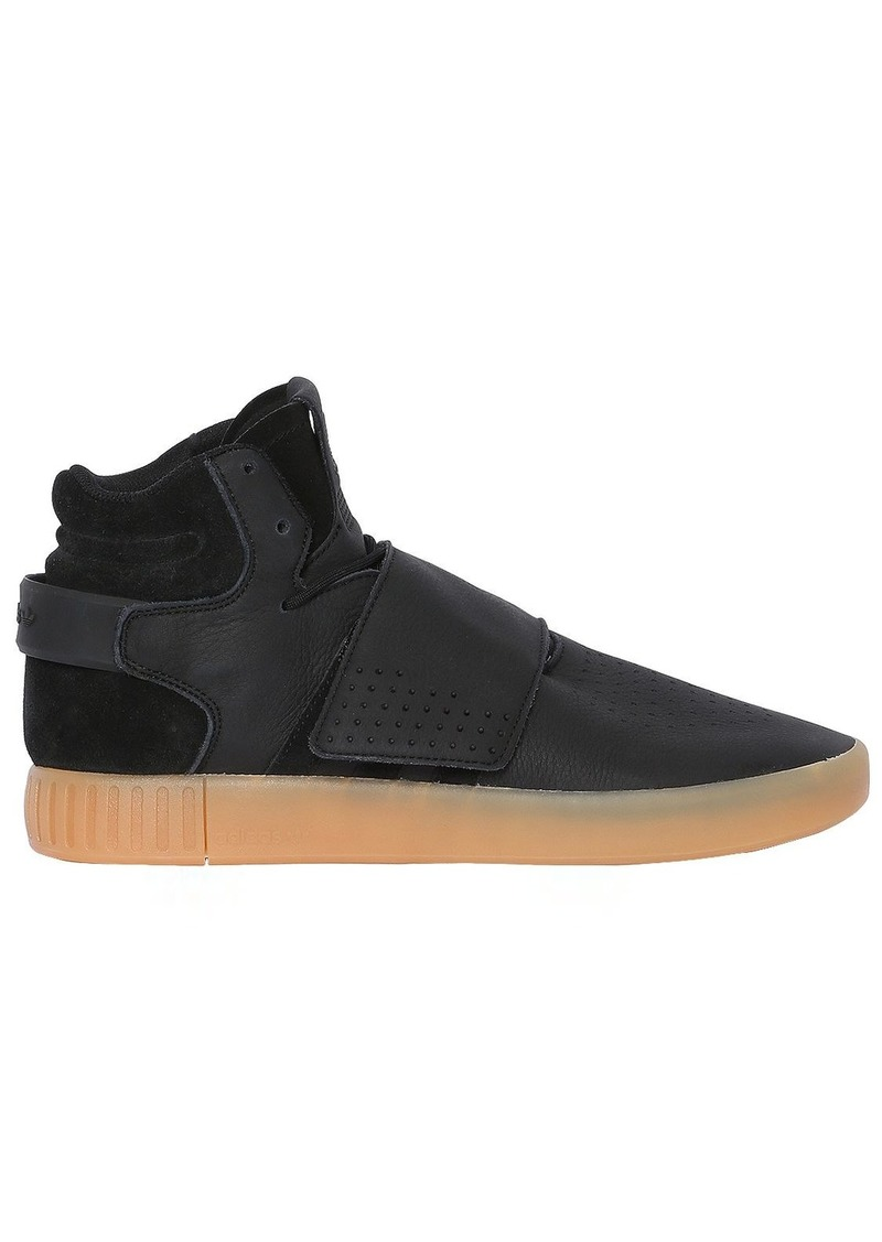 new product b9f5a 6812f Tubular Invader Strap Mid Top Sneakers