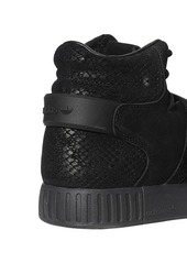 Adidas Tubular Invader Suede High Top Sneakers
