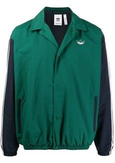 Adidas two tone bomber jacket