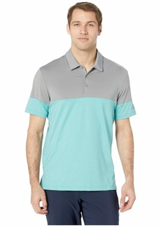 Adidas Ultimate 3-Stripes Heather Blocked Polo
