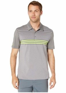 Adidas Ultimate 3-Stripes Heather Gradient Polo
