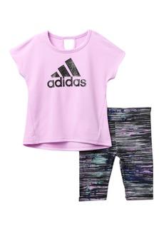 Adidas Ultimate Capri Tight Set (Baby Girls)