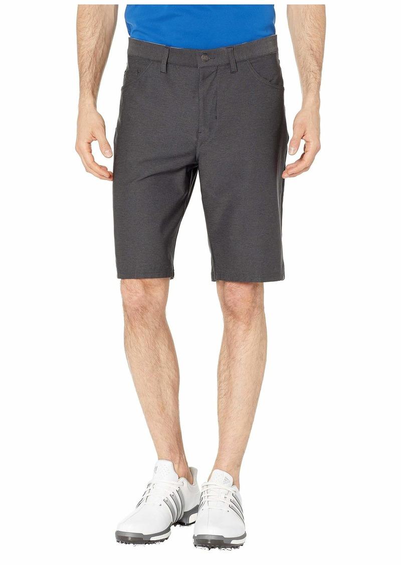Adidas Ultimate Heather Five-Pocket Shorts