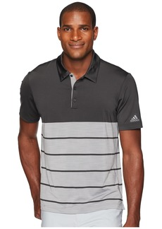 Adidas Ultimate Heather Stripe Polo