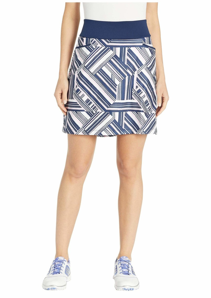 "Adidas Ultimate Knit 18"" Printed Skort"