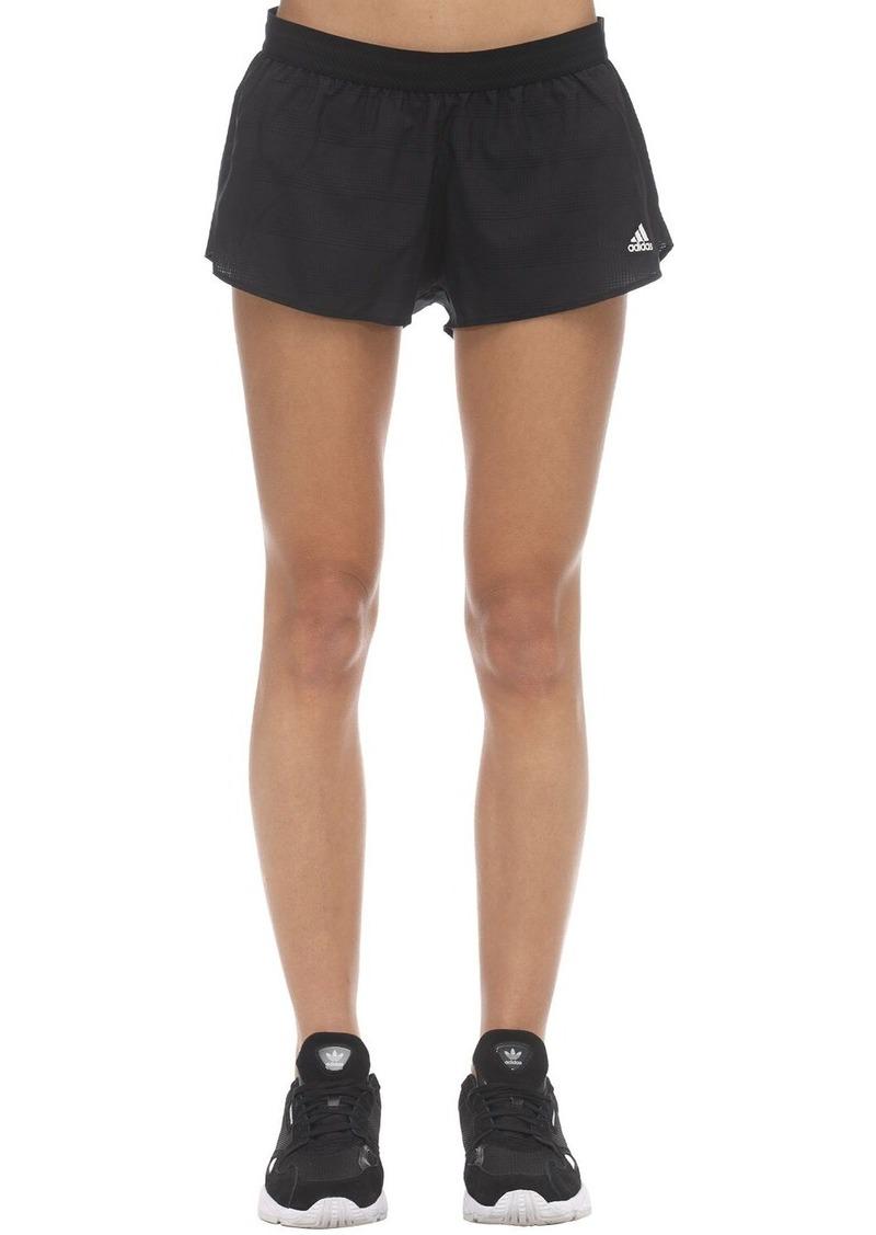 Adidas Ultra Light Nylon Speed Split Shorts
