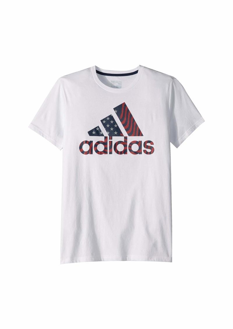 Adidas USA Graphic Tee (Big Kids)