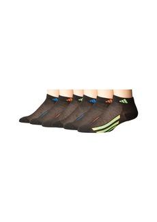 Adidas Vertical Stripe Low Cut 6-Pack (Toddler/Little Kid/Big Kid/Adult)