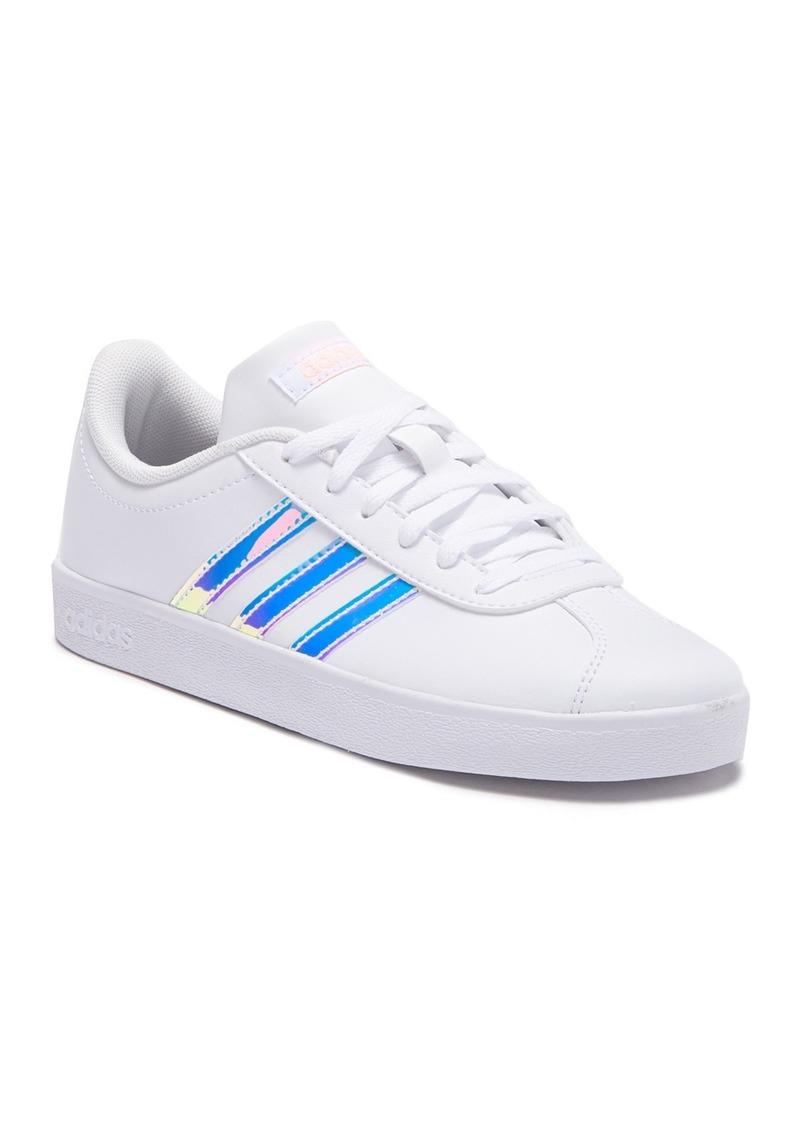 Adidas VL Court 2.0 Sneaker (Little Kid & Big Kid)