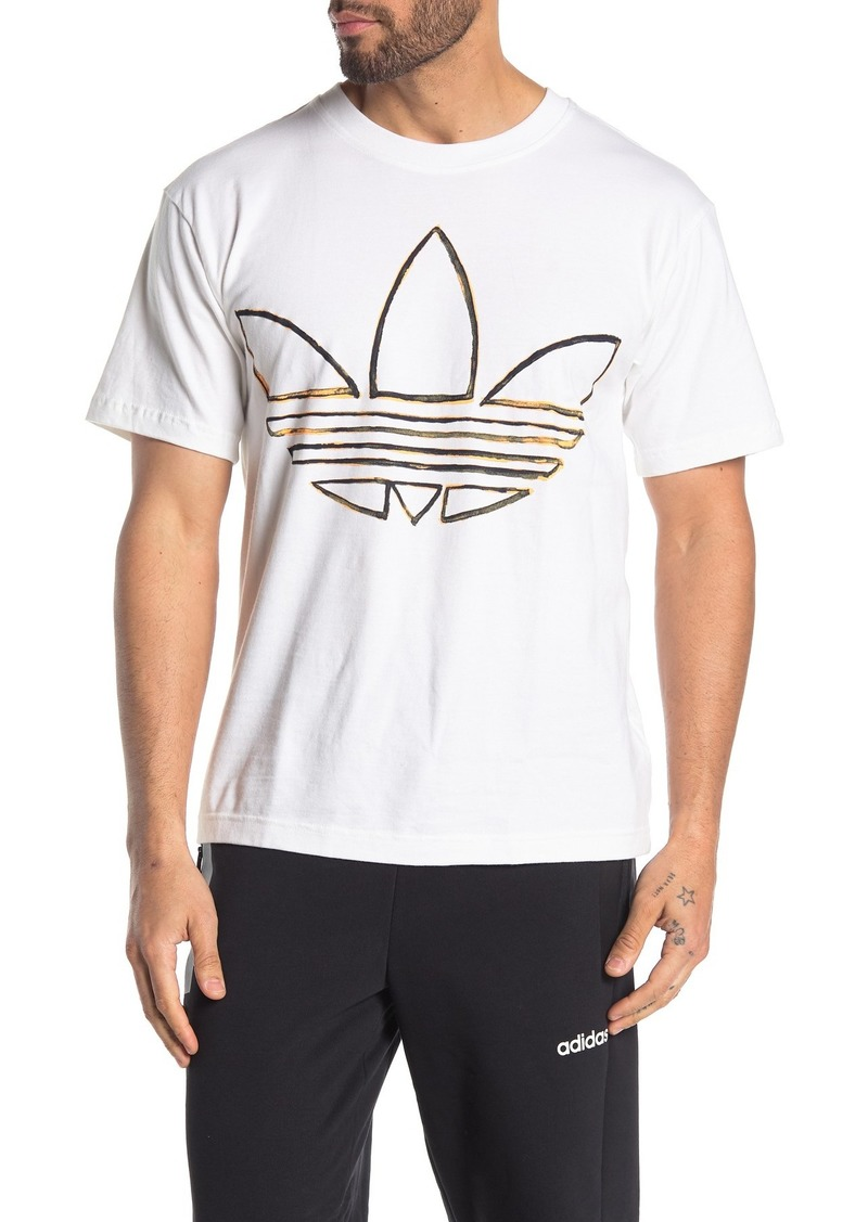 Adidas Watercolor Brand Logo T-Shirt