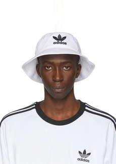 Adidas White & Black Adicolor Bucket Hat