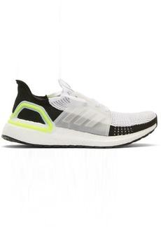 Adidas White & Black UltraBoost 19 Sneakers