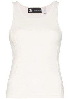 Adidas ribbed vest top