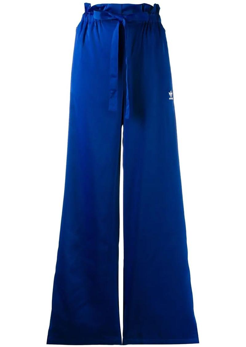 Adidas wide-leg track pants