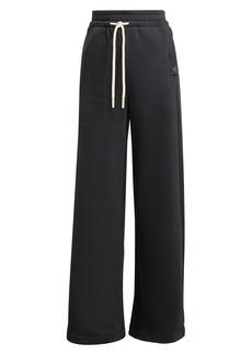 Women's Adidas Women's Studio Lounge Wide Leg Fleece Pants