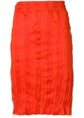 Adidas wrinkled midi skirt