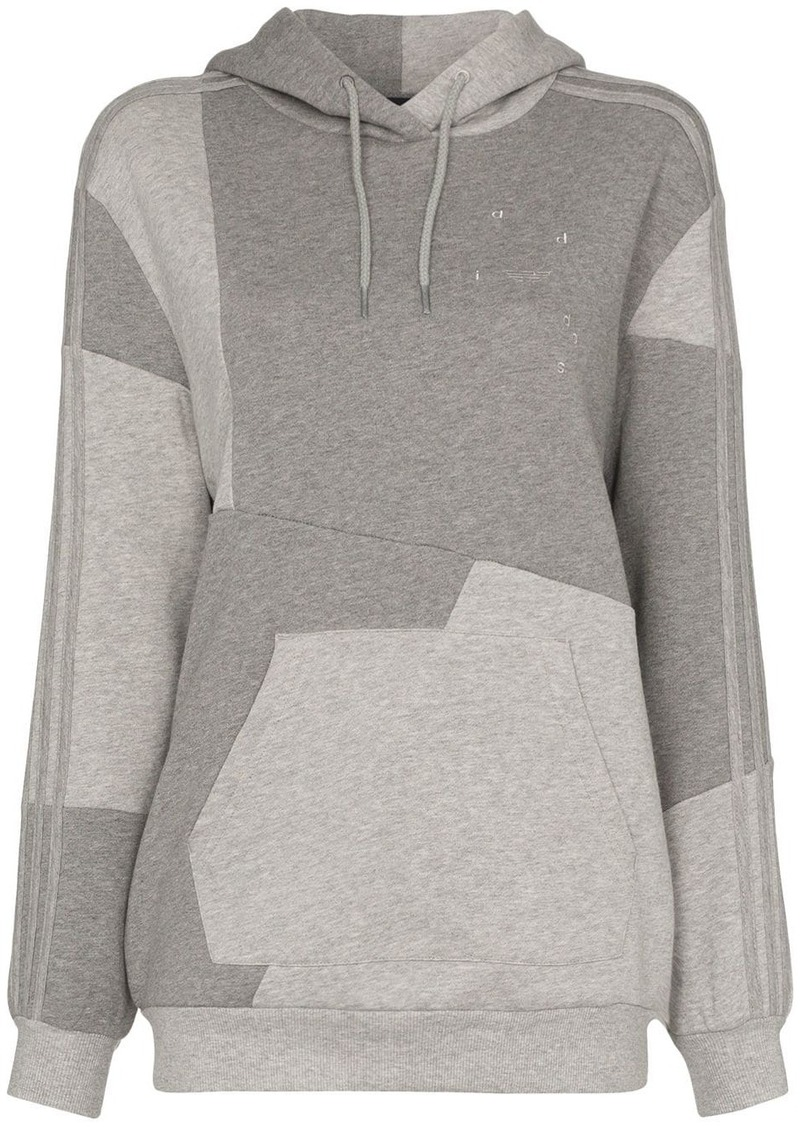 Adidas x Daniëlle Cathari two-tone panelled hoodie