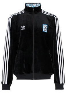 Adidas X HAGT velour track top
