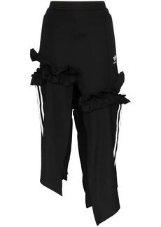 Adidas x JKOO 3-stripe midi skirt