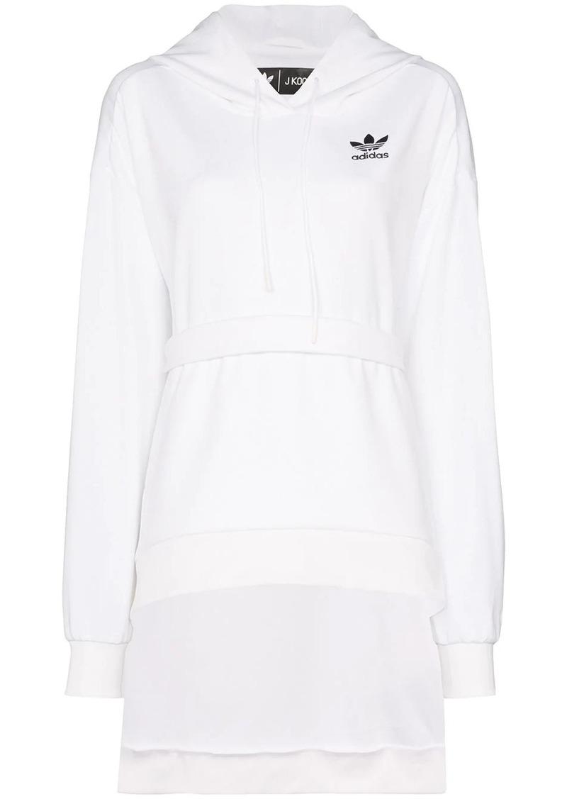 Adidas x JKOO HDY tie waist hoodie