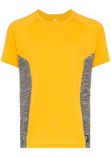 Adidas x Missoni panelled T-shirt