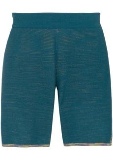 Adidas x Missoni Saturday striped shorts