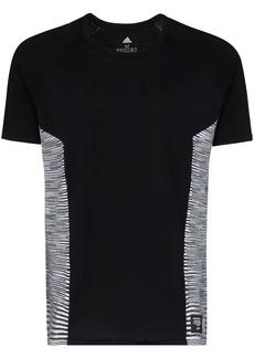 Adidas x Missoni striped panel T-shirt
