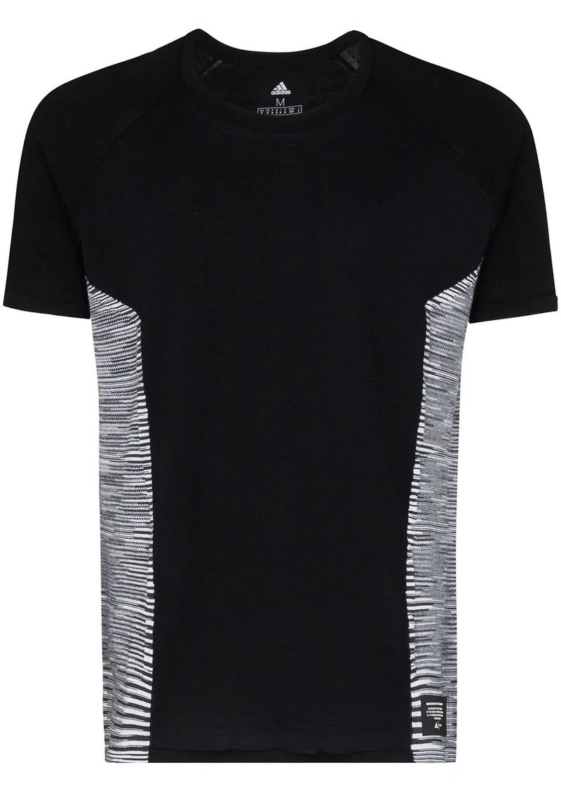 Adidas x Missoni striped panel T-shirt