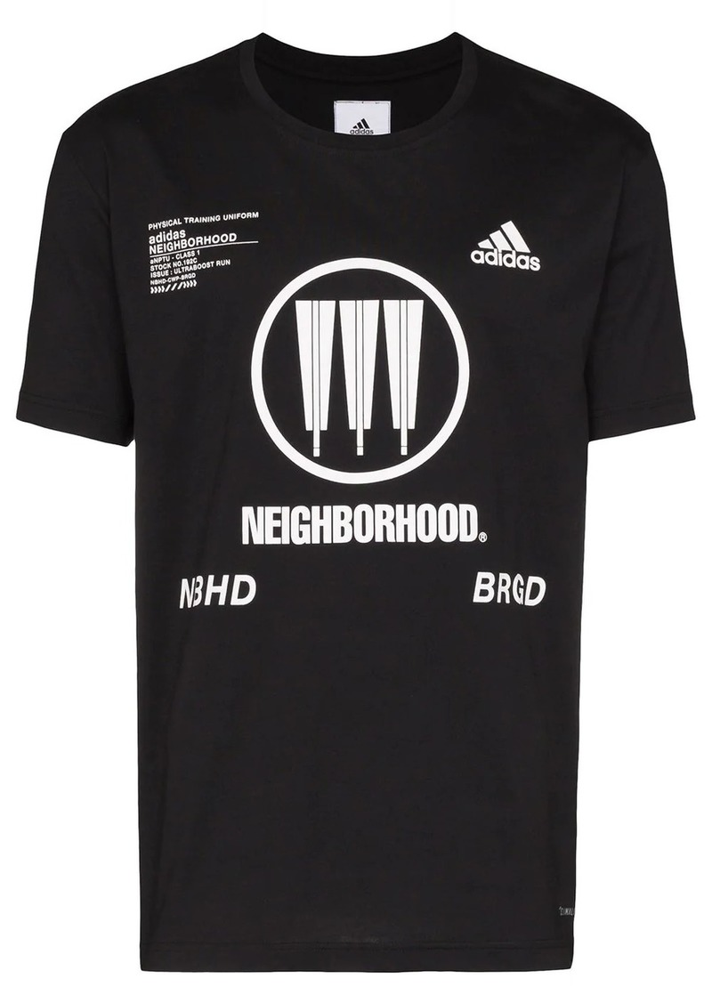 Adidas x Neighborhood logo T-shirt